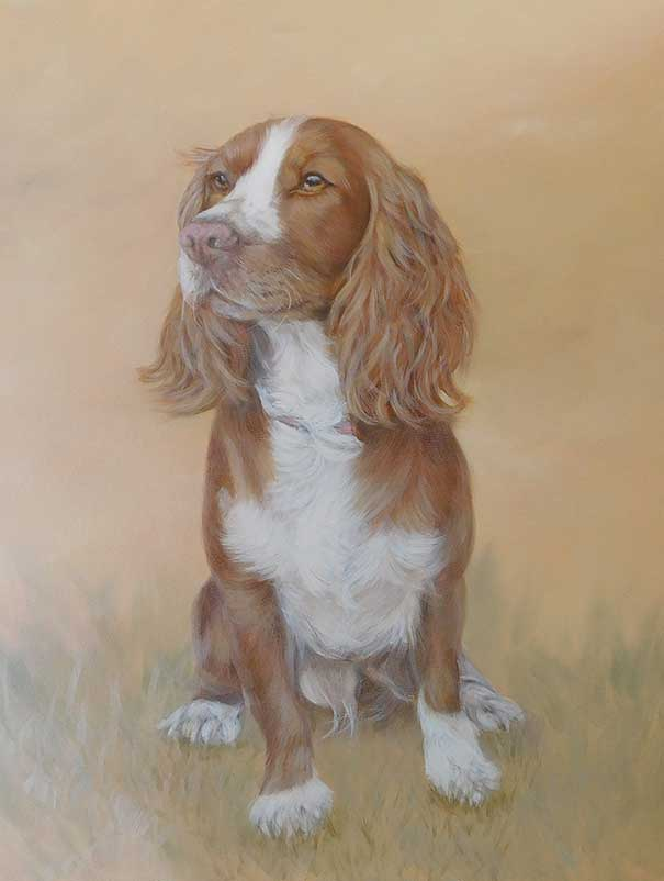 Dog Portraits in pastels or oils